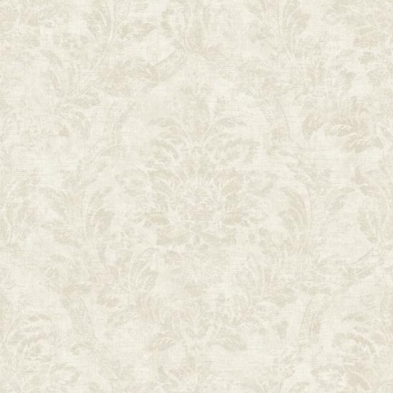 Distressed Damask Wallpaper AM8768