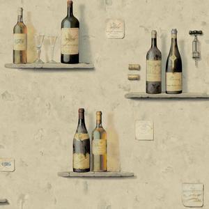 Wine Bottle/Niche Wallpaper AM8813