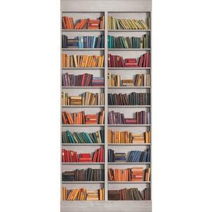 Two Panel Book Shelf Mural AM8845M