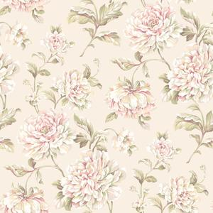 Painterly Floral Wallpaper EL3902