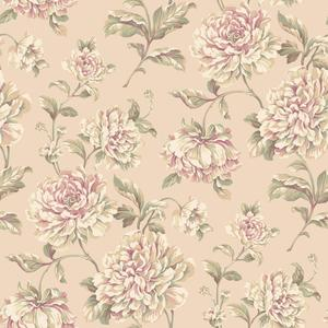 Painterly Floral Wallpaper EL3903