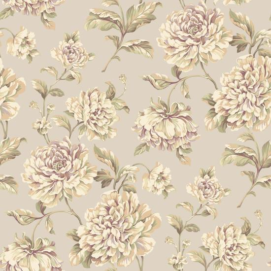Painterly Floral Wallpaper EL3905