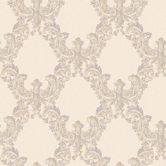 2 Color Trellis Wallpaper EL3951