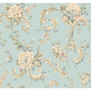 Floral Scroll Wallpaper EL3959