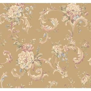 Floral Scroll Wallpaper EL3960