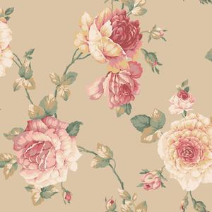 Lg Rose Vine Wallpaper EL3983