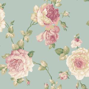Lg Rose Vine Wallpaper EL3984
