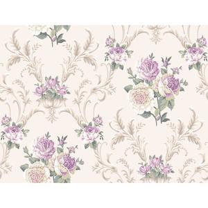 Floral Scrolling Wallpaper EL3989