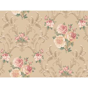Floral Scrolling Wallpaper EL3990