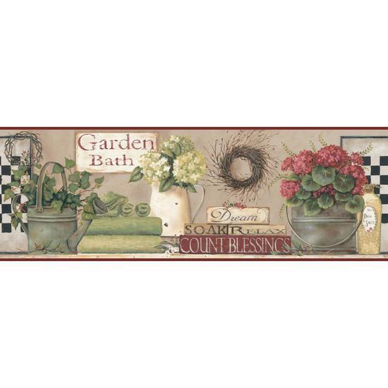 Garden Bath Border BG1600BD