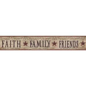 Faith, Family, Friends Border BG1608BD