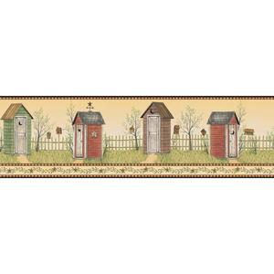 Country Outhouse Border BG1620BD