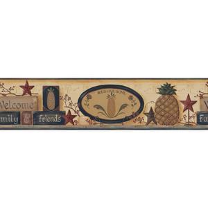 Welcome Pineapple Border BG1624BD