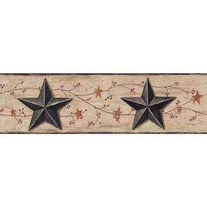 Barn Star & Vine Border BG1632BD