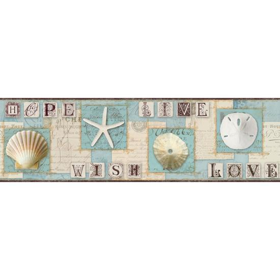 Beach Journal Border BG1641BD