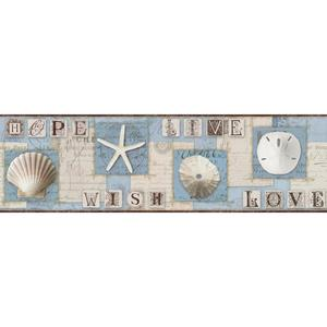 Beach Journal Border BG1642BD