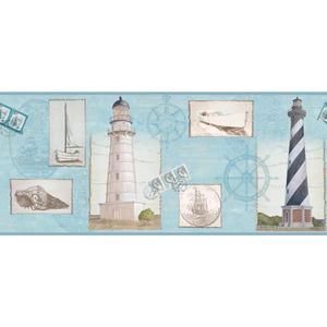 Seacoast Lighthouse Border BG1660BD