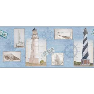 Seacoast Lighthouse Border BG1661BD