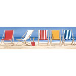 Beach Chairs Border BG1665BD