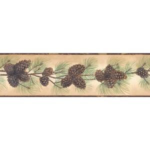 Pine Cone Branch Border BG1669BD