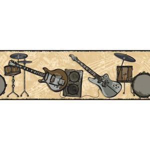 Rock N Roll Border BG1677B