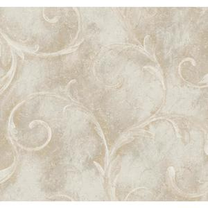 Athena Scroll Wallpaper CC9596