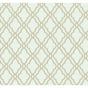 Waverly Classics Hampton Trellis Wallpaper WA7712
