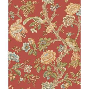 Waverly Classics Casa Blanca Rose Wallpaper WA7735