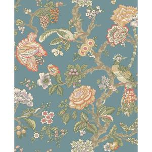 Waverly Classics Casa Blanca Rose Wallpaper WA7736