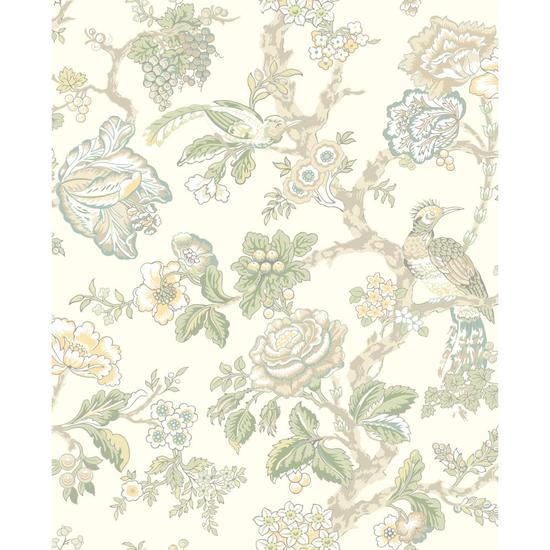 Waverly Classics Casa Blanca Rose Wallpaper WA7737