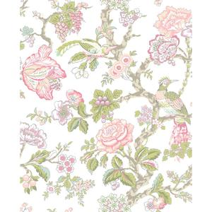 Waverly Classics Casa Blanca Rose Wallpaper WA7739