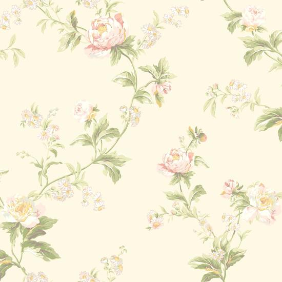 Waverly Classics Forever Yours Trail Wallpaper WA7755
