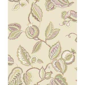 Waverly Classics Fantasy Fleur Wallpaper WA7763
