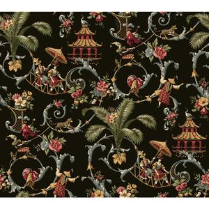 Waverly Classics Mandarin Prose Wallpaper WA7769