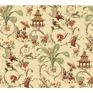 Waverly Classics Mandarin Prose Wallpaper WA7770