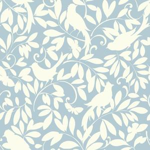 Waverly Cottage Birdsong Wallpaper ER8135