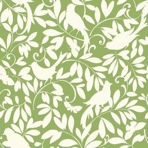 Waverly Cottage Birdsong Wallpaper ER8136