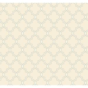 Waverly Cottage Buzzing Around Trellis Wallpaper ER8194