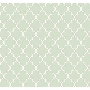 Waverly Cottage Buzzing Around Trellis Wallpaper ER8195