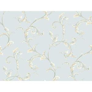 Floral Scroll Companion Wallpaper PL4608