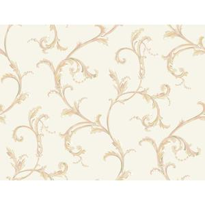 Floral Scroll Companion Wallpaper PL4610