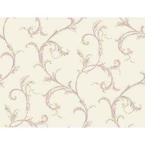 Floral Scroll Companion Wallpaper PL4611