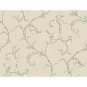 Floral Scroll Companion Wallpaper PL4613