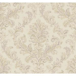 Painterly Damask Wallpaper PL4640