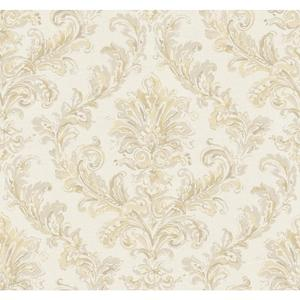 Painterly Damask Wallpaper PL4642