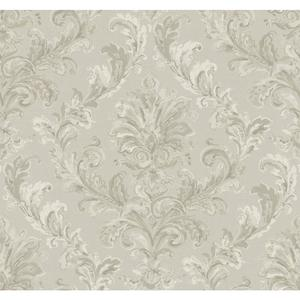 Painterly Damask Wallpaper PL4644