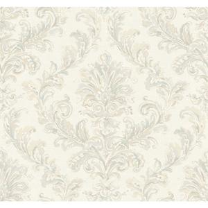 Painterly Damask Wallpaper PL4645