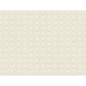 Framed Geo Damask Wallpaper PL4661