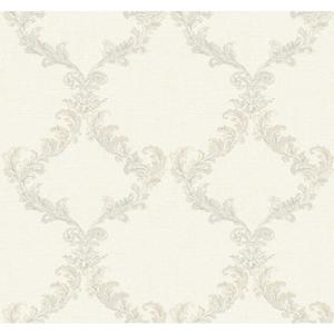 Painterly Damask Frame Wallpaper PL4678
