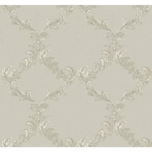 Painterly Damask Frame Wallpaper PL4679